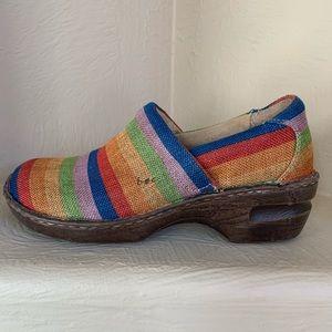 Born B.O.C. Soft Multicolor Fabric Clog